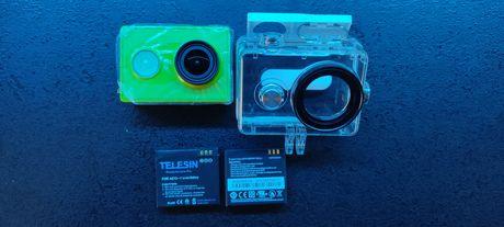 Новая Xiaomi yi action cam + водонепроницаемый бокс + батарея