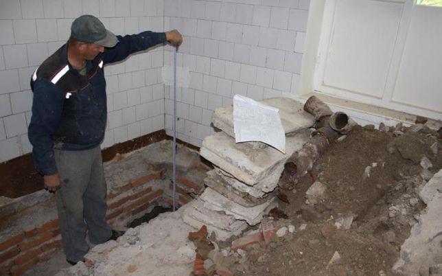 Выполняем работы по рытью земли внутри помещений, подвалов, складов