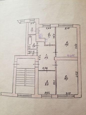 Продам 3к квартиру  в Раково
