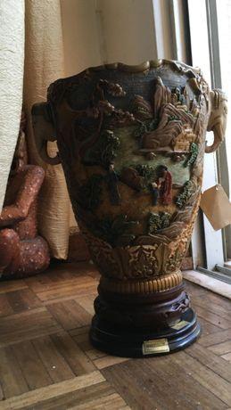 Decoração - Jarra pintada à mão