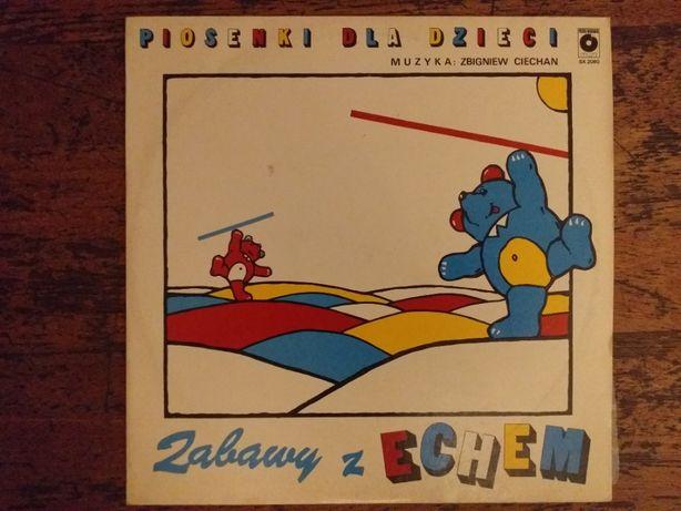 Vinyl Piosenki dla dzieci Zabawy z echem muz. W.Ciechan PN 1986