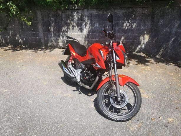 Honda CB125F modelo 2019