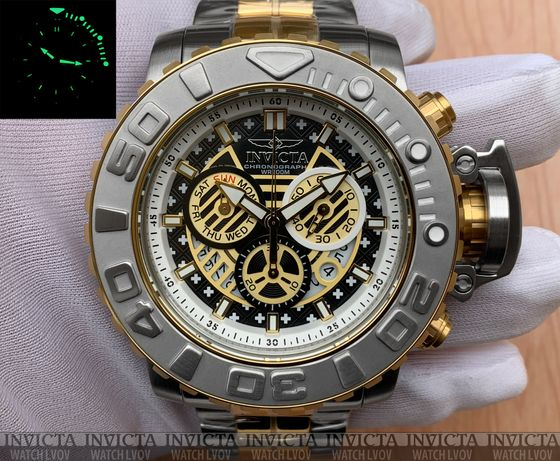 Часы Invicta 22131 Reserve Sea Hunter III Master of the Oceans Swiss