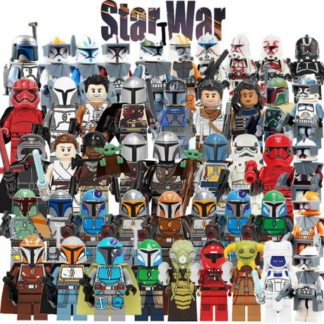 Новые фигурки Star Wars звездные войны, игра престолов для lego лего