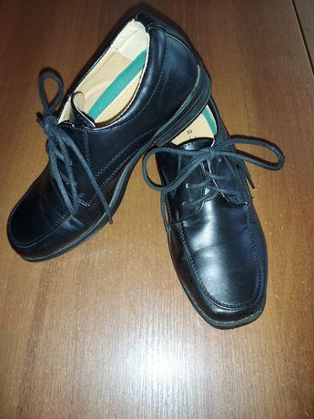 Buty chłopięce eleganckie r 33 dł.20cm