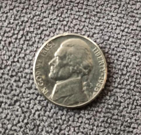 Sprzedam monetę 5 centów 1986 rok