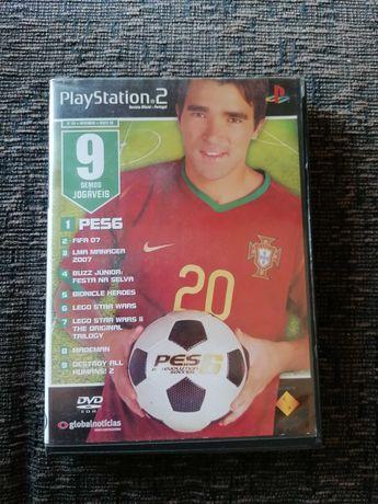 9 demos de Jogos para PS2  (PES, FIFA, MADE MAN, STAR WARS, ... )