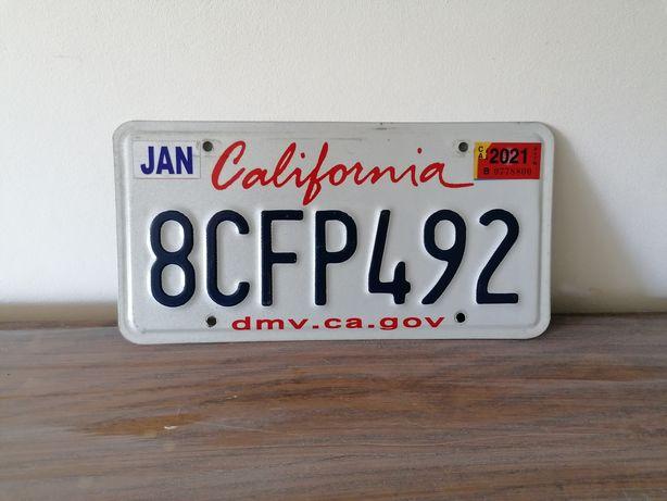 Matrícula USA - California Original