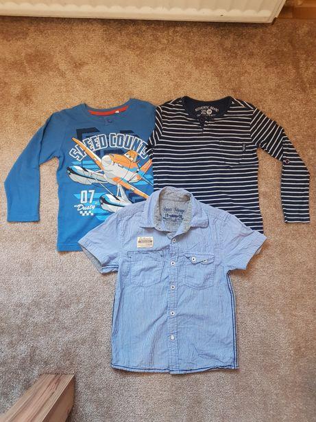 116 cm bluzki Reserved C&A koszula Rebel cena za całość