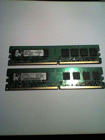 Memorias Pc DDR2 2X1 Gb