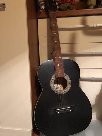 DEFIL gitara akustyczna PRL CZARNA Unikat