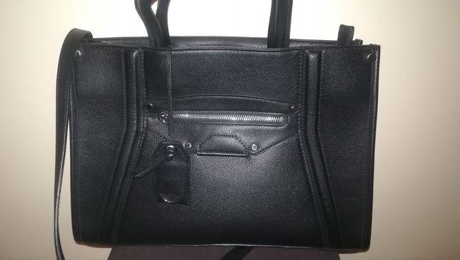 Sprzedam śliczna czarną torebkę firmy h&m stan idealny