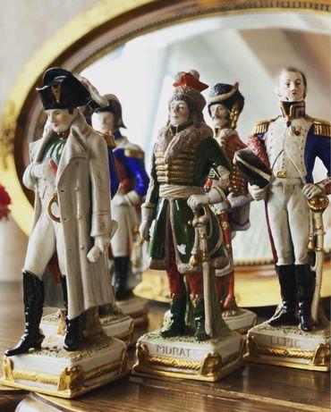 Статуэтки фигурки солдат коллекционные фарфор Сакс Германия
