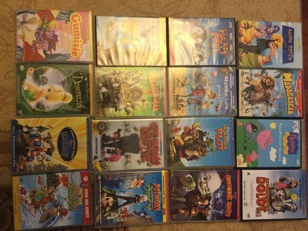 DVD Pl dubbing bajki Disney Peppa, skok przez płot, scooby doo, lula