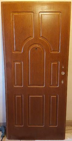 Panel Dierre Złoty Dąb / Orzech do drzwi zewnętrznych Dierre