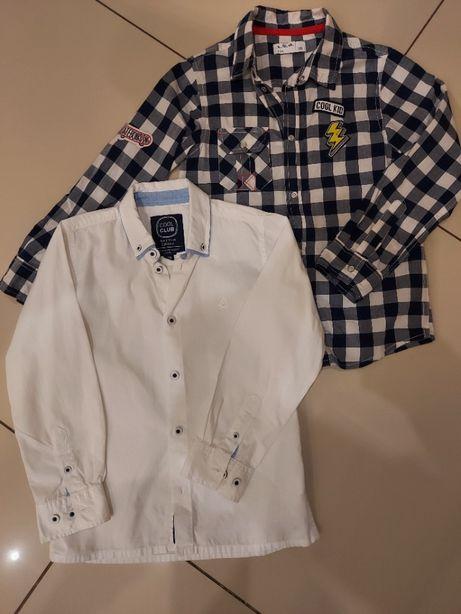 Komplet 2 Koszul dla chłopca 5-10-15 i Cool Club, rozm. 128. Polecam!
