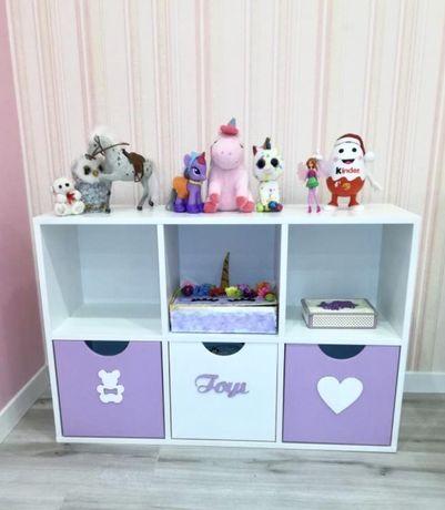 Стеллаж детский/стеллаж для хранения игрушек