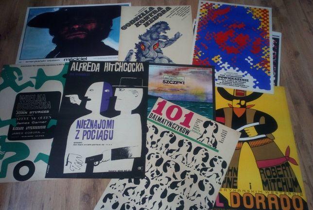 Plakaty filmowe reklama stare plakaty cyrk sport lotnicze vingate PRL!