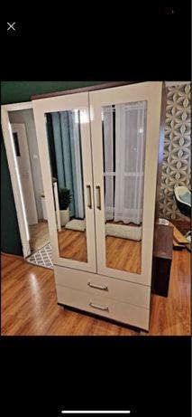 Szafa 2-drzwiowa, z lustrem