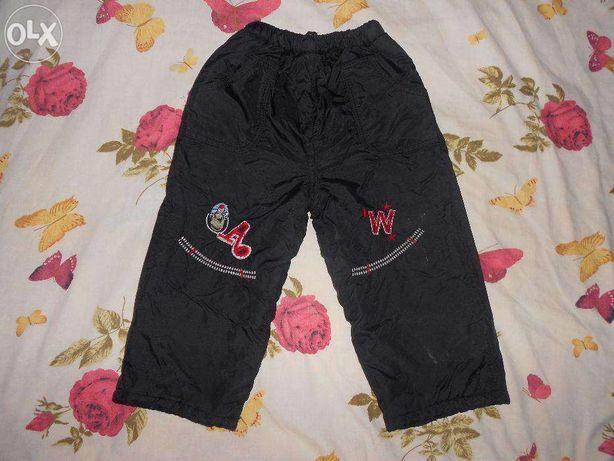 Продам болоневые брюки на мальчика