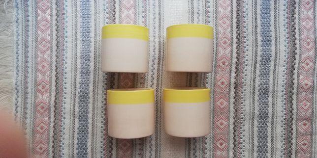 ceramiczne doniczki komplet NOWE