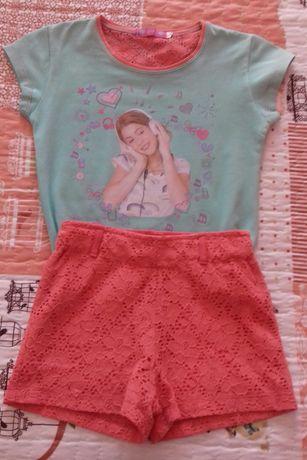 Conjunto roupa Violeta - 4 anos