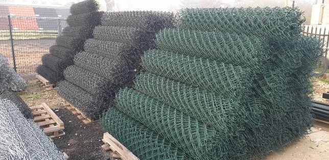 Siatka ogrodzeniowa powlekana ocynk2.5/3,6 wys. 1.5m