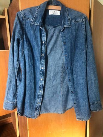 Jeansowa koszula firmy H&M