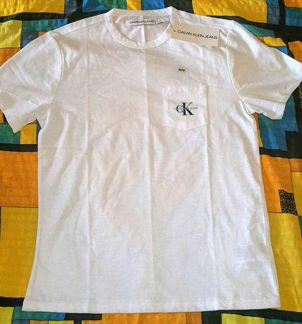 Koszulka z krótkim rękawkiem Calvin Klein Jeans.
