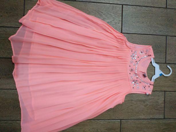 Платье нежное жифоновое