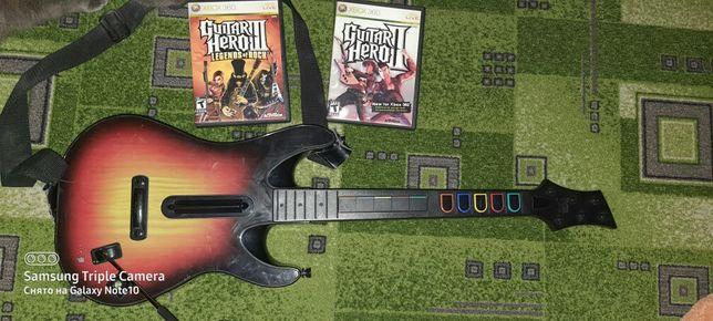 Xbox360 гитара безпроводная