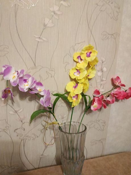 Ветка орхидеи искусственная