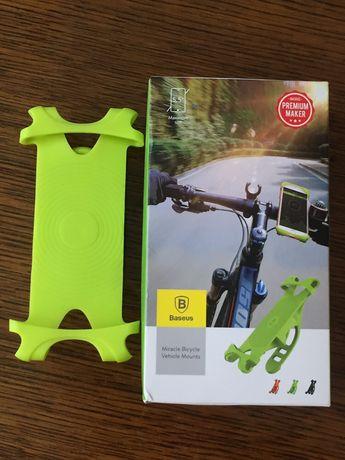 Uchwyt na telefon rowerowy silikonowy rower smartfon motocyklowy