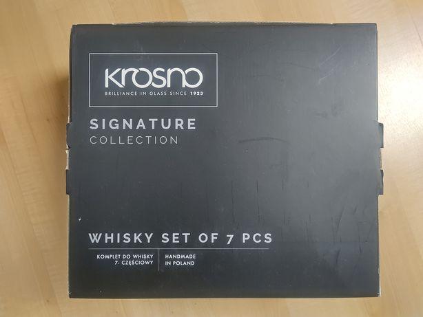 Zestaw do whisky Krosno karafka + 6 szklanek Signature Collection