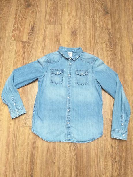 Koszula jeansowa 158