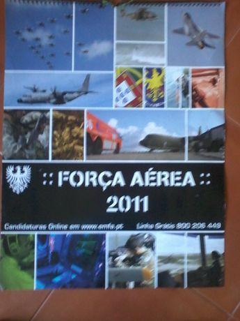 Calendário Força Aerea 2011