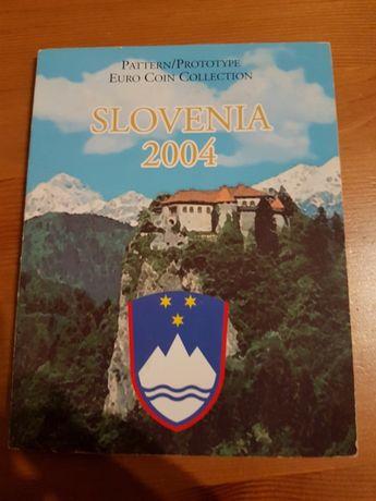 Próbne monety euro Słowenia