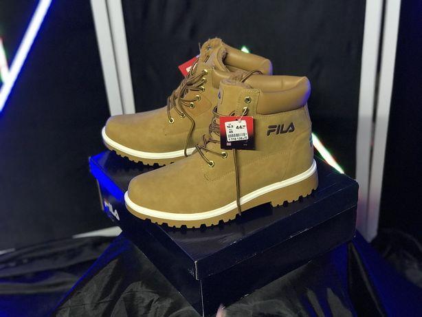 Новые ботинки зимние на меху Fila nike Timberland черевики