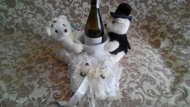 Свадебные медведи для подарка на свадьбу