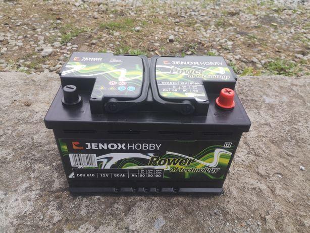 Akumulator Jenox Hobby Marine 12V80AH do Łodzi lub Kampera