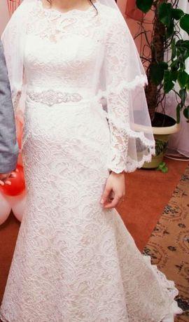 Оригинальное Свадебное Платье Lior размер 44