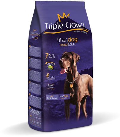 Triple crown Titan Dog