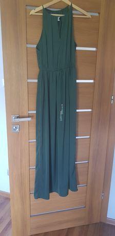 H&M Sukienka butelkowa zieleń roz.XS