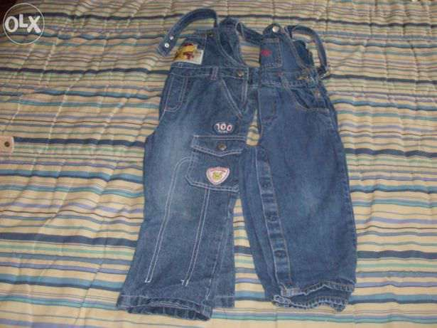 lote de 3 calças de menino- 2 anos
