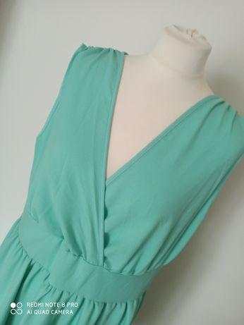 Sukienka miętowa r. 46