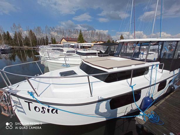 Czarter jachtu Calipso 750 dwa stery strumieniowe NEW 2021 Wolna Majó