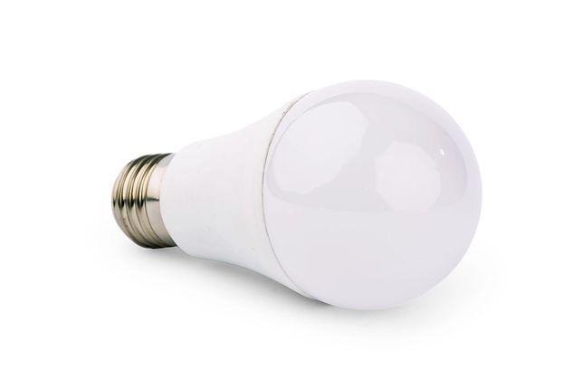 Żarówka E27 barwa ZIMNA 12W kulka LED KG024