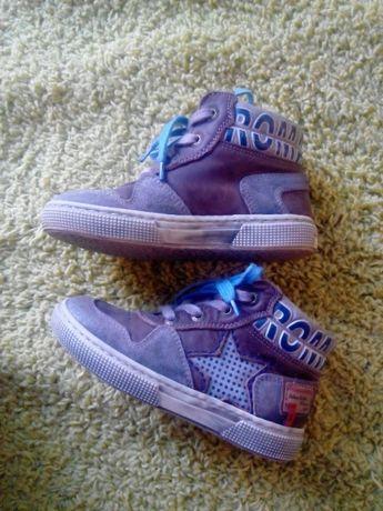 Ботинки Romagnoli кожа. Хайтопы,кроссовки.