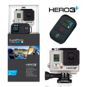 Kamera GoPro Hero 3+ Black Edition w promocji Akcesoria Stan Super!
