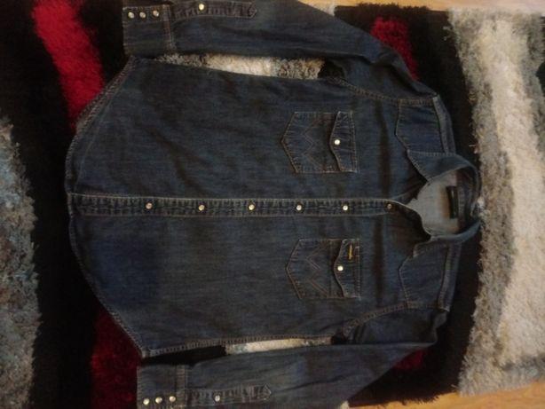 Koszula jeans wrangler roz M